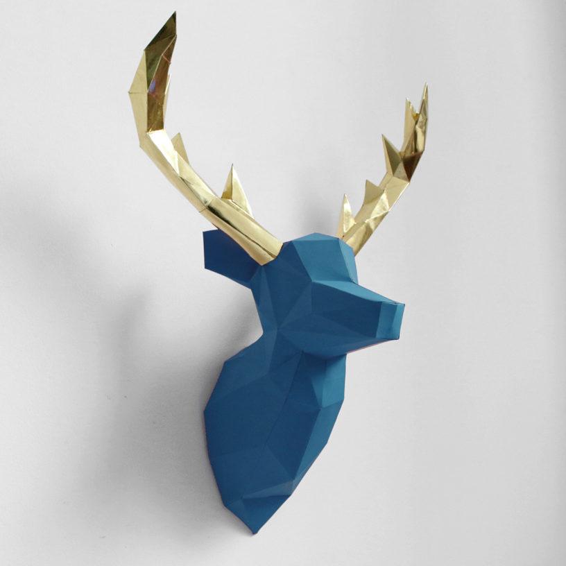 cervo azul dourado