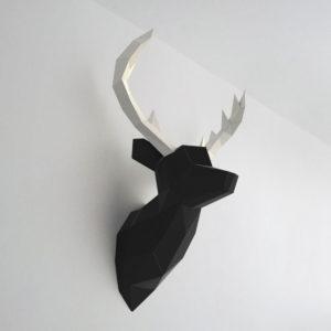 cervo preto branco