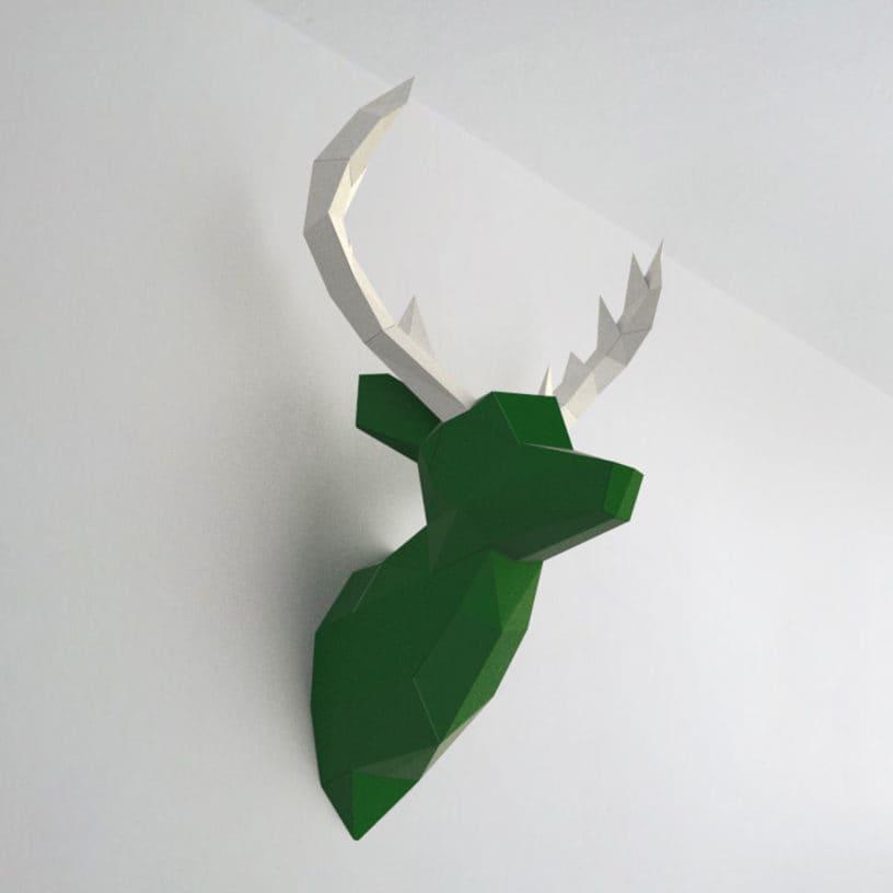 cervo verde branco