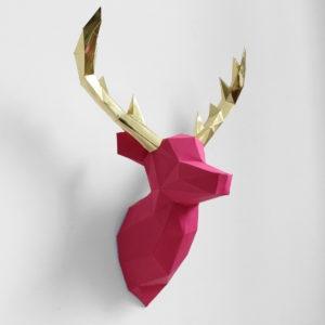 cervo rosa dourado