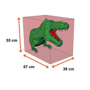 tamanho do dinossauro