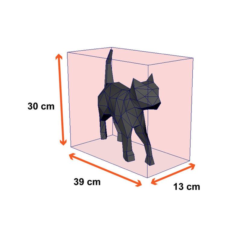 tamanho gato