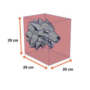 tamanho lobo