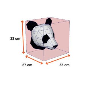 tamanho panda