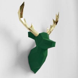 cervo verde dourado