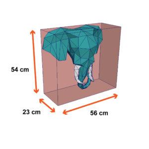 tamanho do elefante