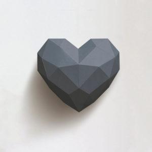Coração cinza