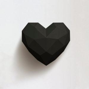 Coração preto