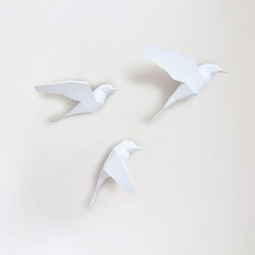Passarinhos branco