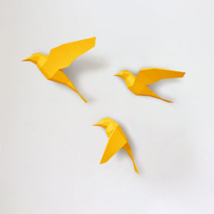 Passarinhos amarelos
