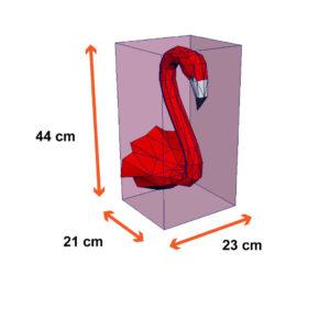 tamanho do flamingo