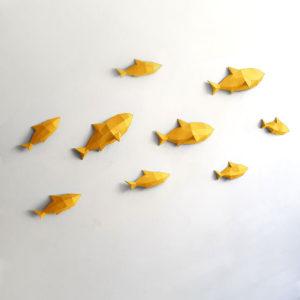 Peixes amarelos