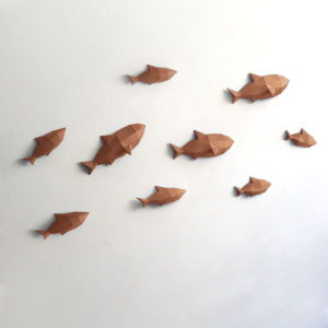 Peixes marrom