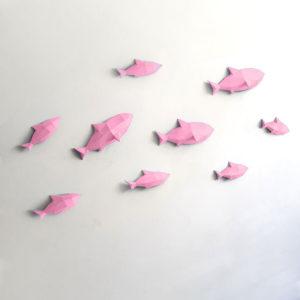 Peixes rosa claro