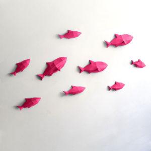 Peixes rosas
