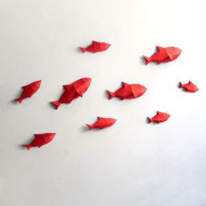 peixes vermelhos