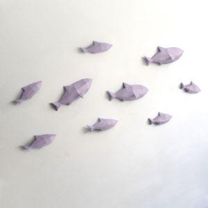 Peixes lilás