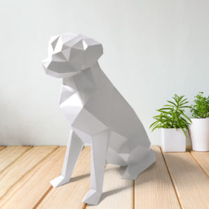Cachorro labrador branco