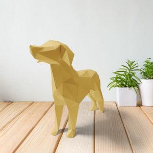 Cachorro amarelo claro