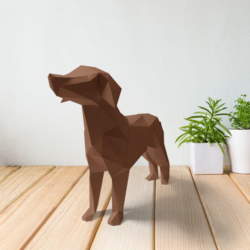 Cachorro marrom